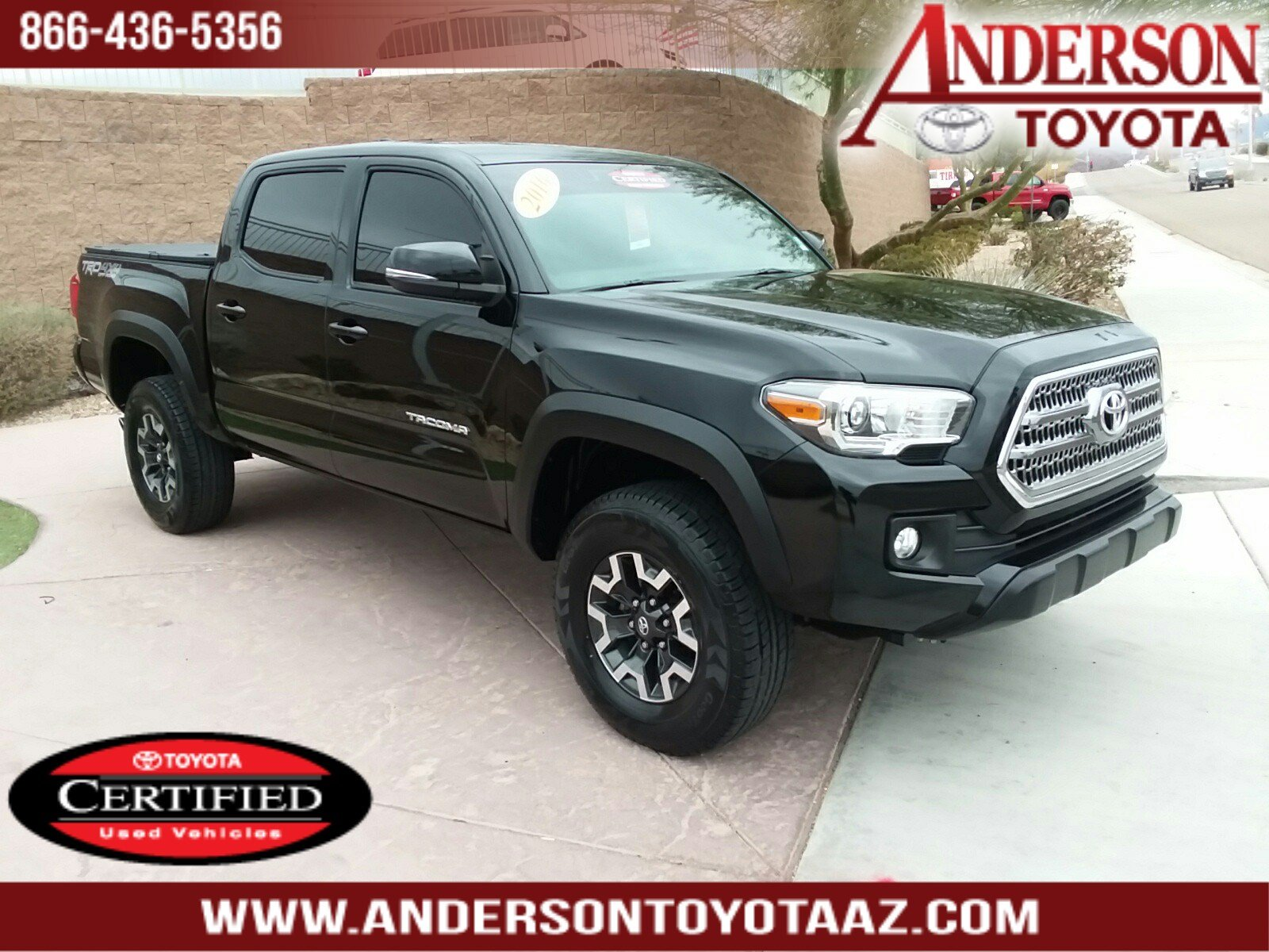 Certified Pre-Owned 2017 Toyota Tacoma TRD Offroad