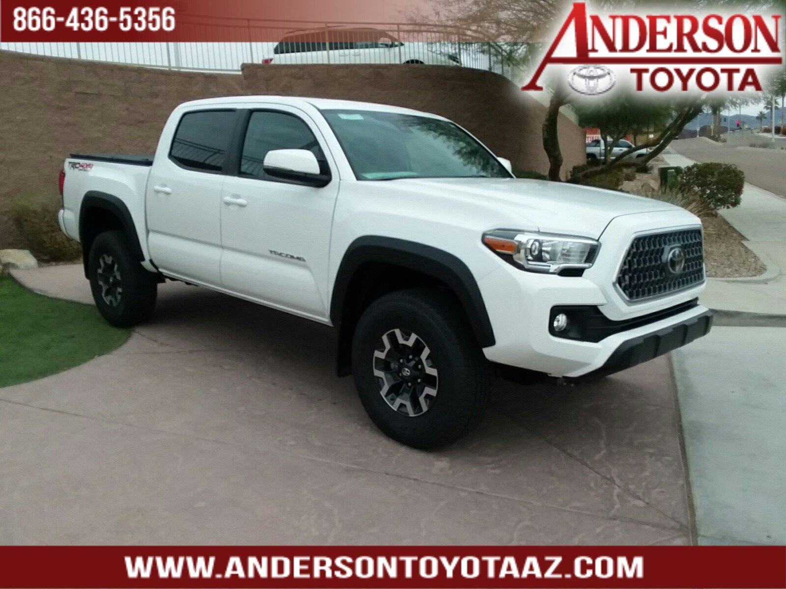 New 2019 Toyota Tacoma Trd Offroad 4d Double Cab In Lake Havasu City