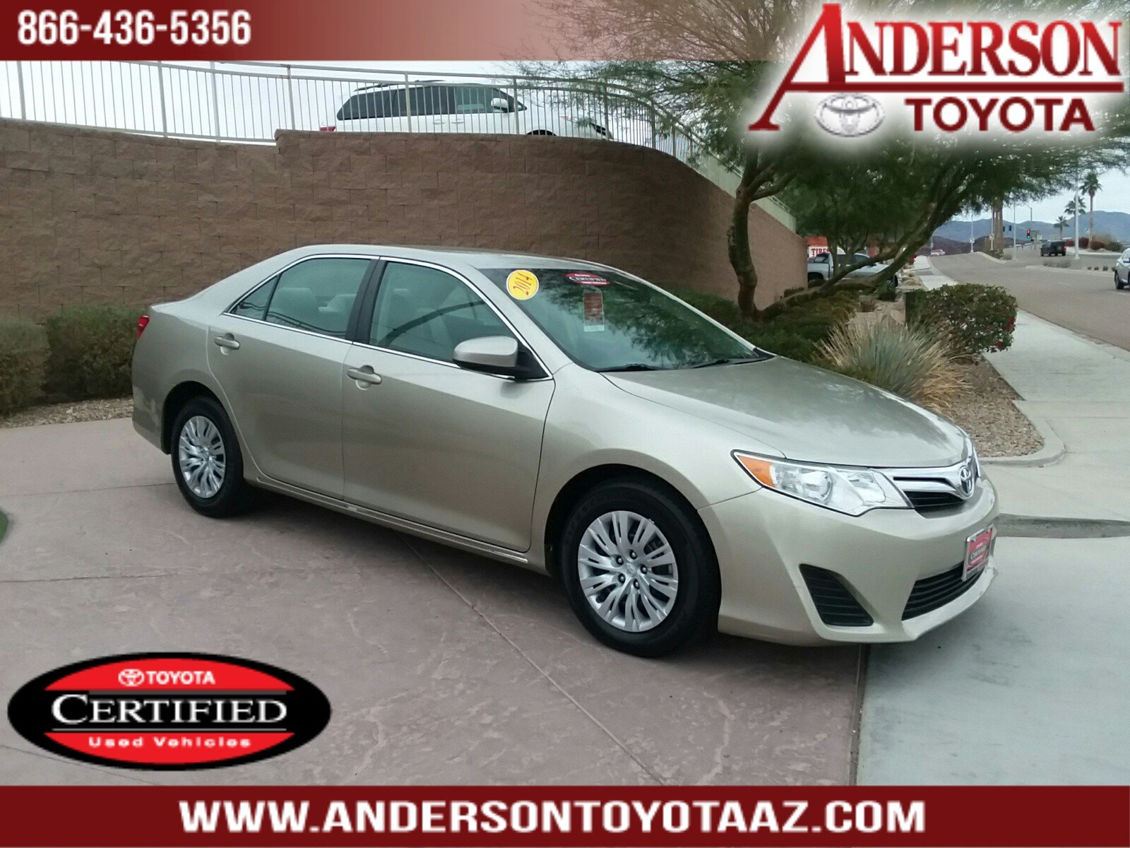 Certified Pre-Owned 2014 Toyota Camry LE