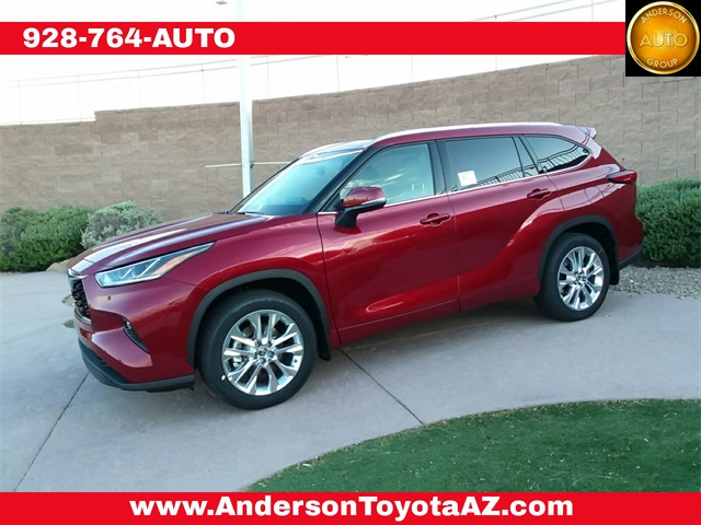 New 2020 Toyota Highlander Limited 4d Sport Utility In Lake Havasu City 27865 Anderson Toyota