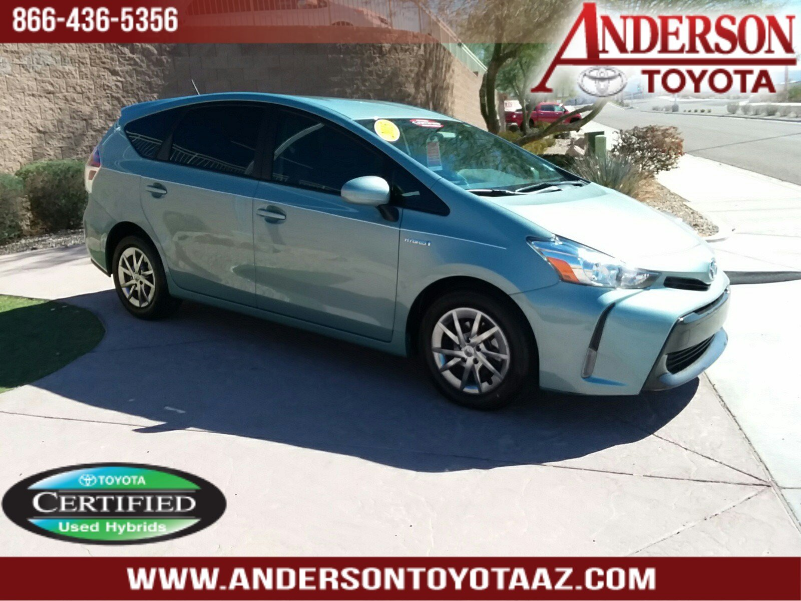 Certified Pre-Owned 2015 Toyota Prius V STD