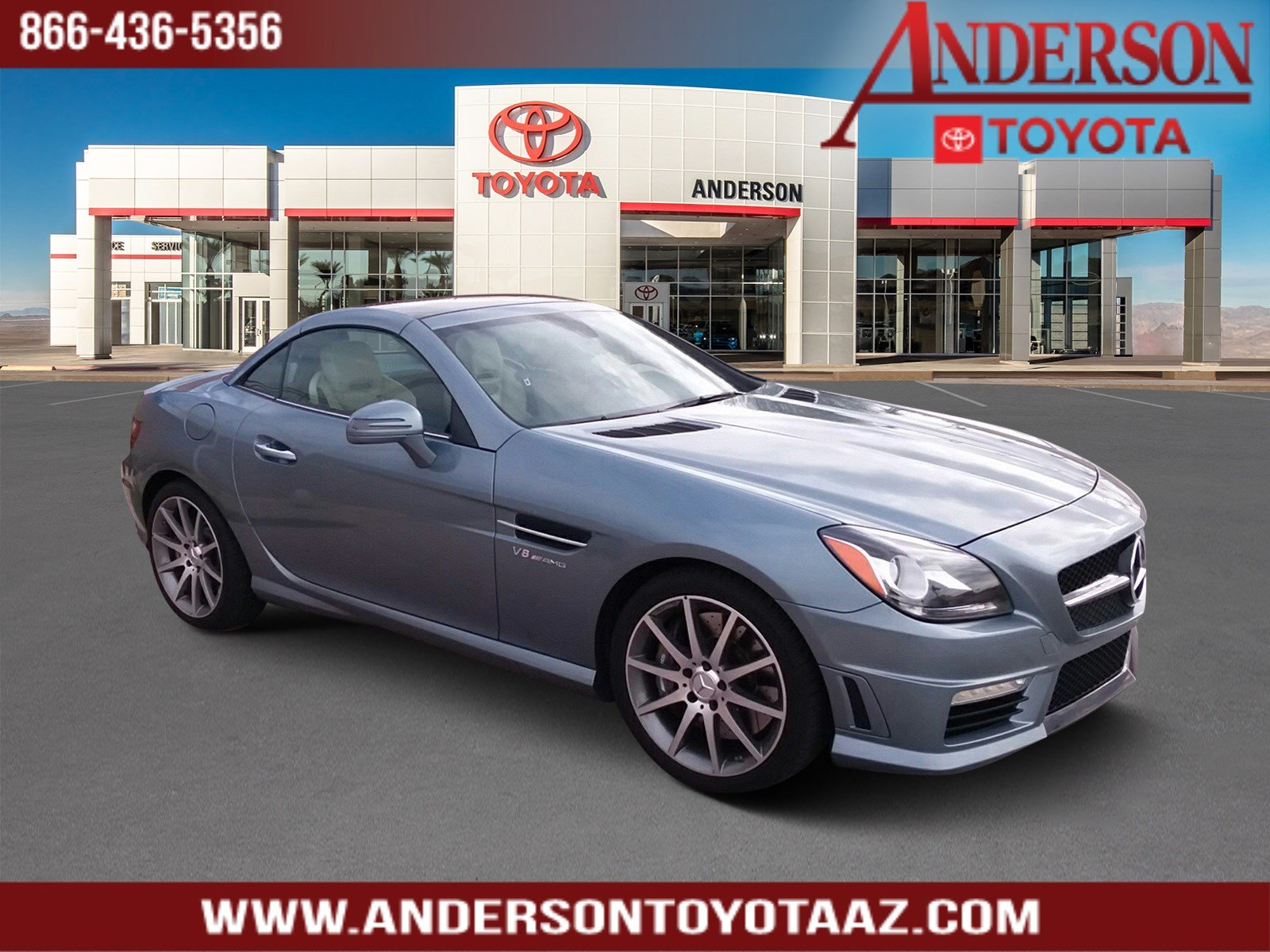 Pre-Owned 2013 Mercedes-Benz SLK SLK 55 AMG®