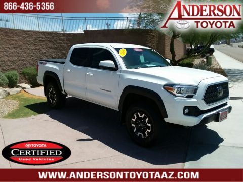 Certified Pre-Owned 2018 Toyota Tacoma TRO